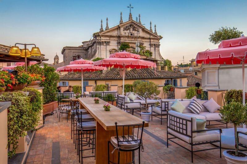 Rooftop Hôtel Cesari, Rome