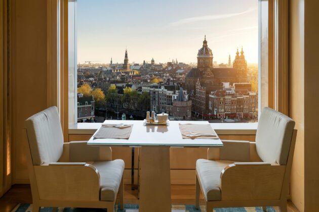 Les 9 meilleurs hôtels avec vue d'Amsterdam