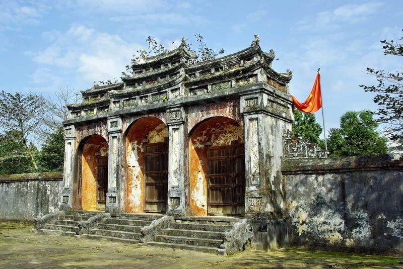 Palais impérial, Hué, Vietnam