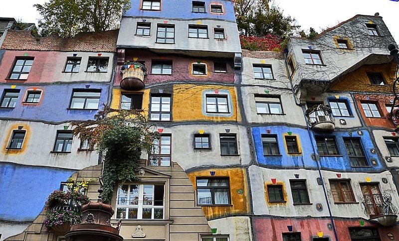 Hundertwasserhaus, Vienne