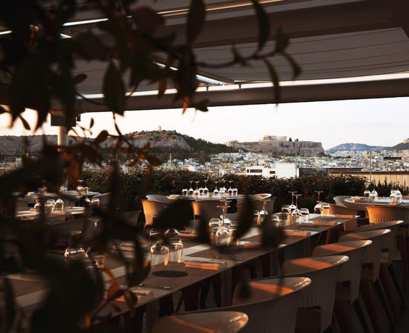 Hytra, Rooftop à Athènes
