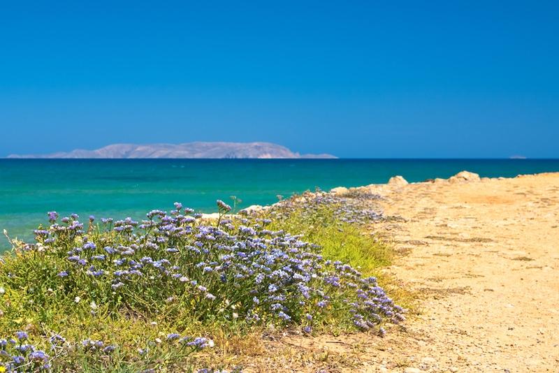 Île de Dia, Crète