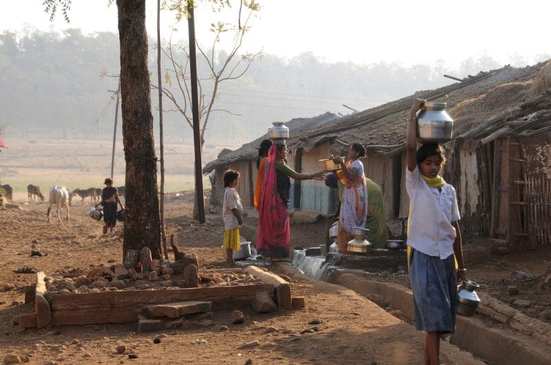Loger dans un village indien en Inde