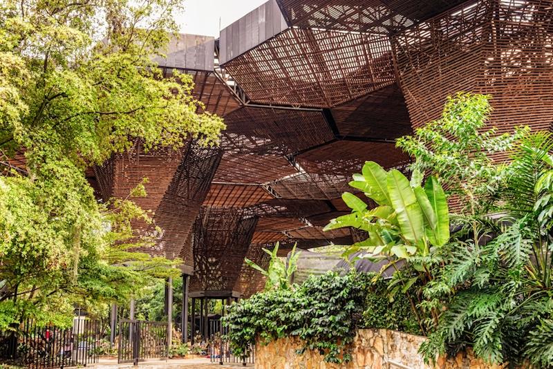 Jardin Botanique, Medellin