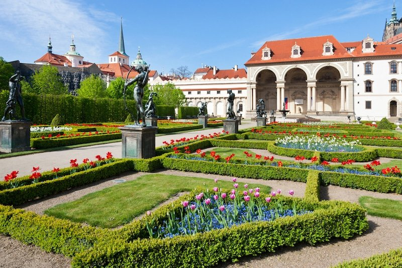 Jardins de Wallenstein, Prague
