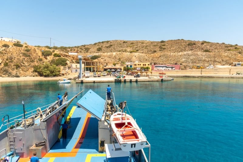 Karave, Crète, Grèce