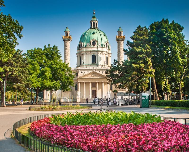 Karlsplatz, Vienne
