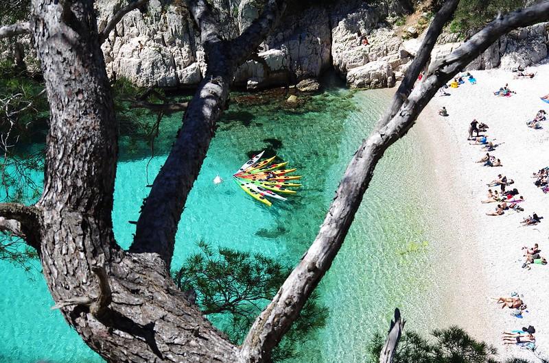 Excursion en Kayak dans les Calanques de Cassis