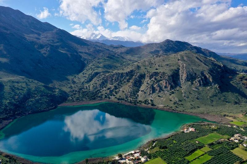 Lac de Kournás, Crète