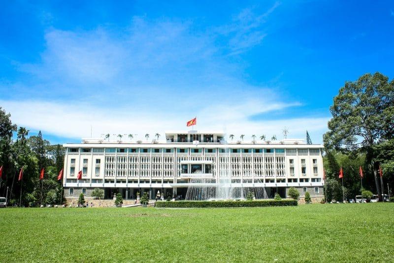Dinh thong nhat, Ho Chi Minh, Vietnam