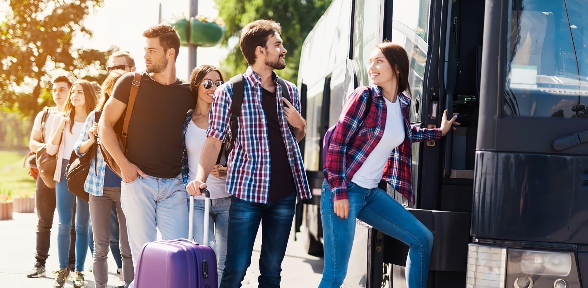 Louer un bus en groupe