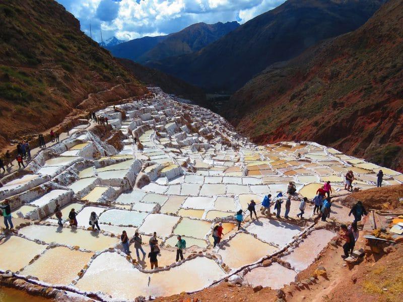 Les salines de Maras, Pérou