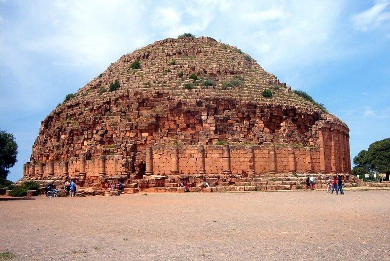 Mausolée royal de Maurétanie, Tipaza