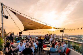 Les meilleurs rooftops où boire un verre à Amsterdam
