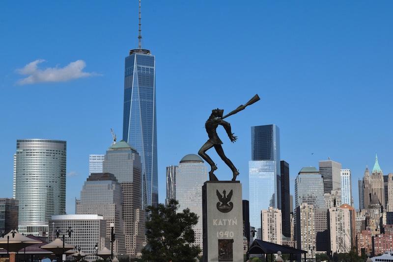 Mémorial de Katyn, Jersey City