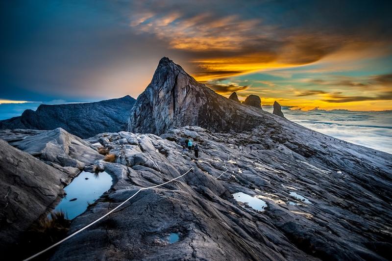 Mont Kinabalu, Malaisie