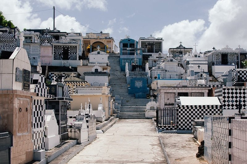Cimetière de Morne-à-L'Eau, Guadeloupe