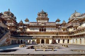 Temple d'Orchaa, Vallée du Gange, Inde