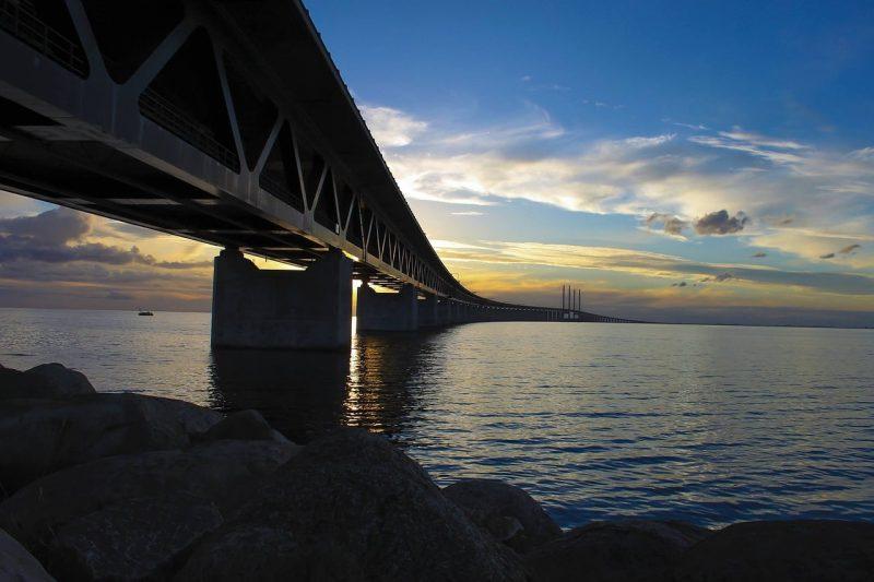 Pont de l'Öresund, Suède