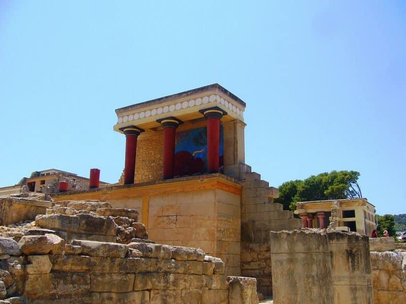 Visiter le Palais de Knossos à Héraklion, Crète
