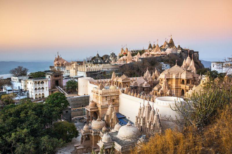 Colline du Palitana, Gujarat, Inde