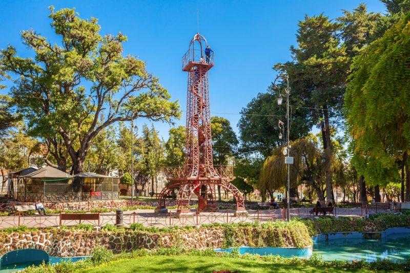 Parc Simon Bolivar, Sucre, Bolivie