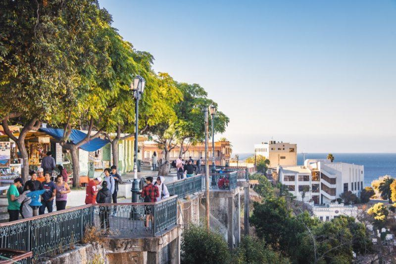 Paseo 21 de mayo, mirador, Valparaiso