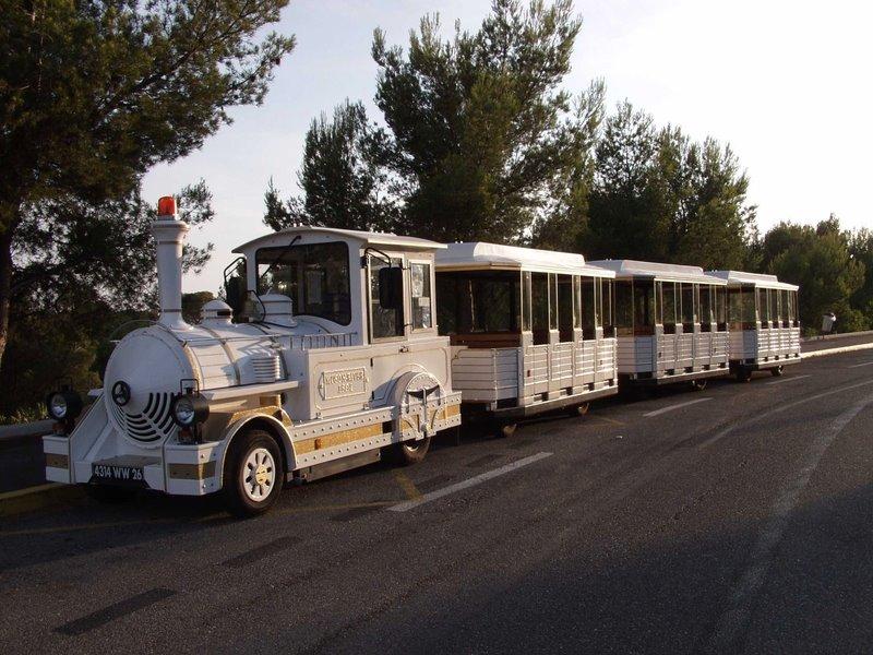 Petit train touristique de Cassis