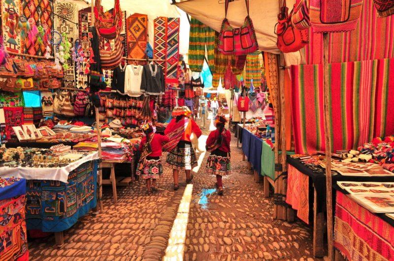 Marché de Pisac, Pérou