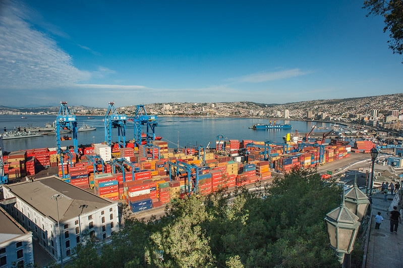 Port de Valparaiso, Chili