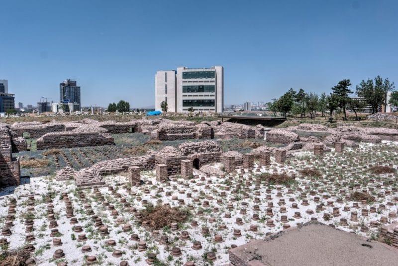 Roman Baths, Ruines romaines, Bains romains, Ankara