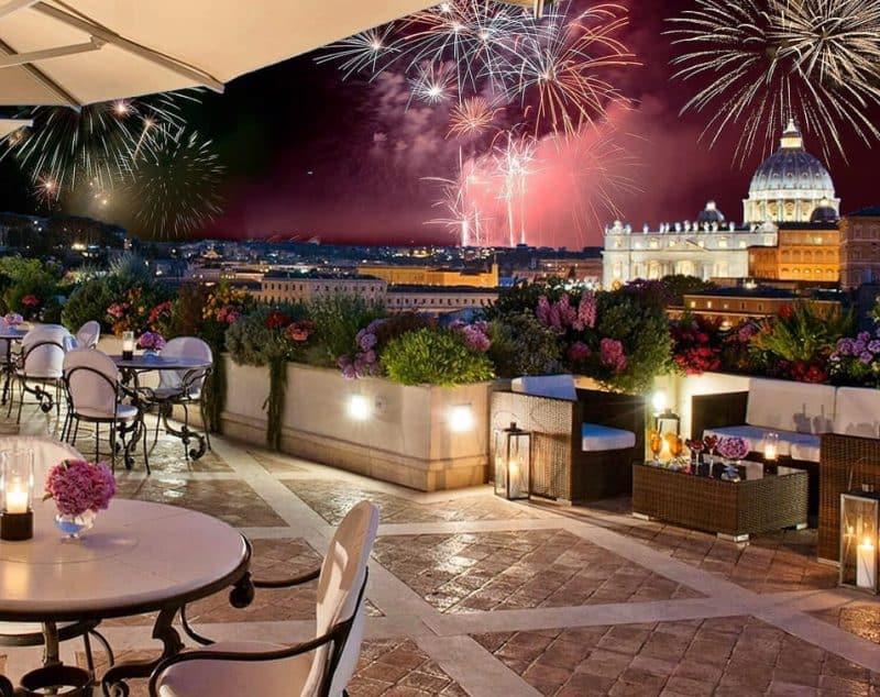 Les Etoiles, Rooftop à Rome