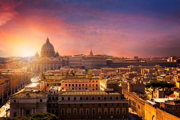 Les 15 meilleurs rooftops où boire un verre à Rome