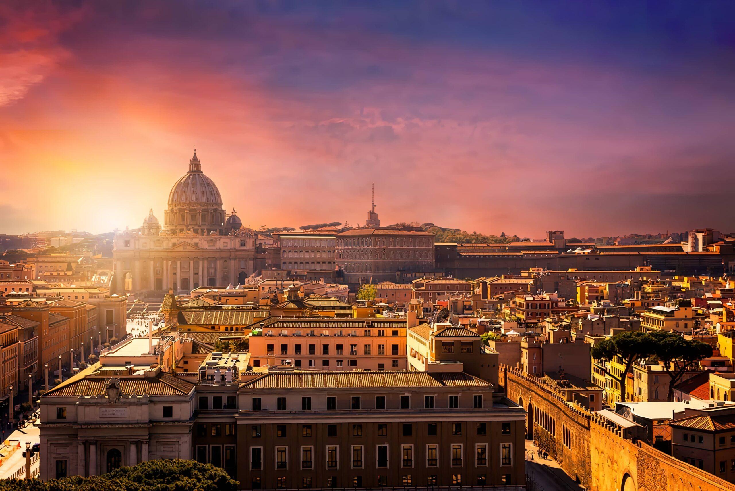 Les meilleurs rooftops où boire un verre à Rome