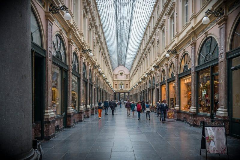 Galeries royales Saint-Hubert, Bruxelles