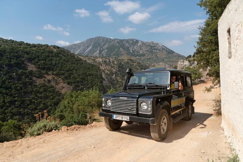 Safari, Crète