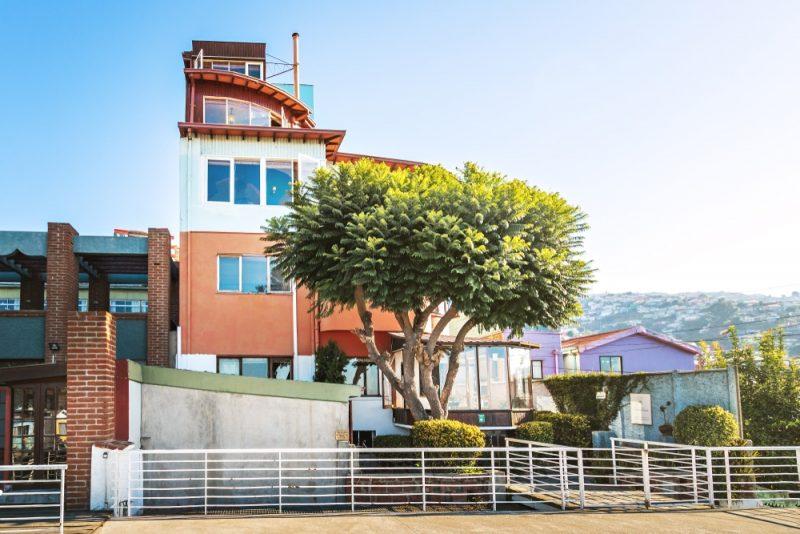 La Sebastiana, maison Pablo Neruda, Valparaiso