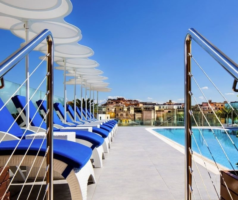 Sky Blu Pool Terrace, Rome