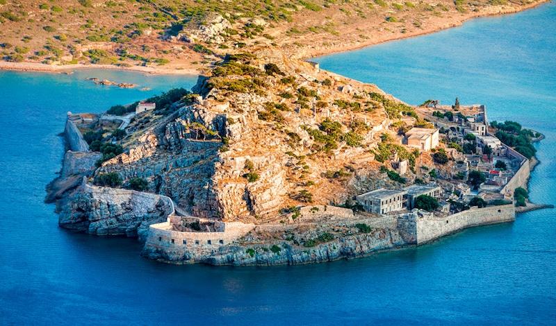 Île de Spinalonga, Crète