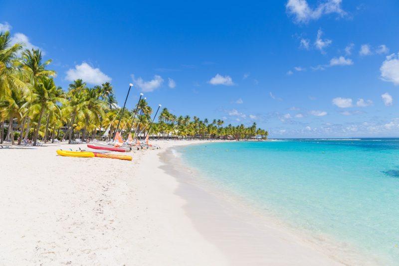 Plage de la Caravelle, Saint-Anne, Guadeloupe
