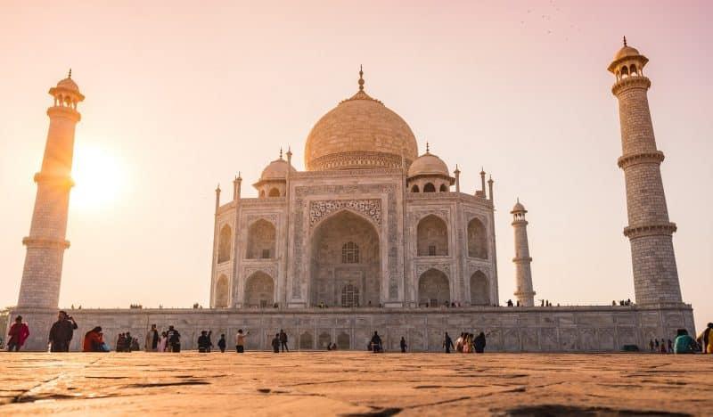 Triangle d'Or, Taj Mahal, Inde
