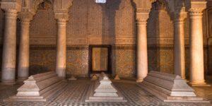 Tombeaux Saadiens, Marrakech