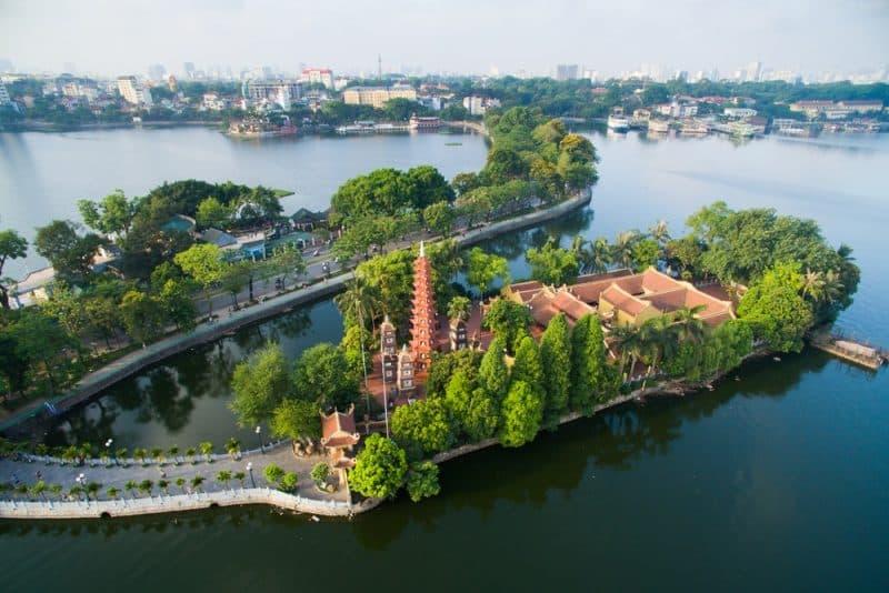 Pagode de trấn quốc, Vietnam