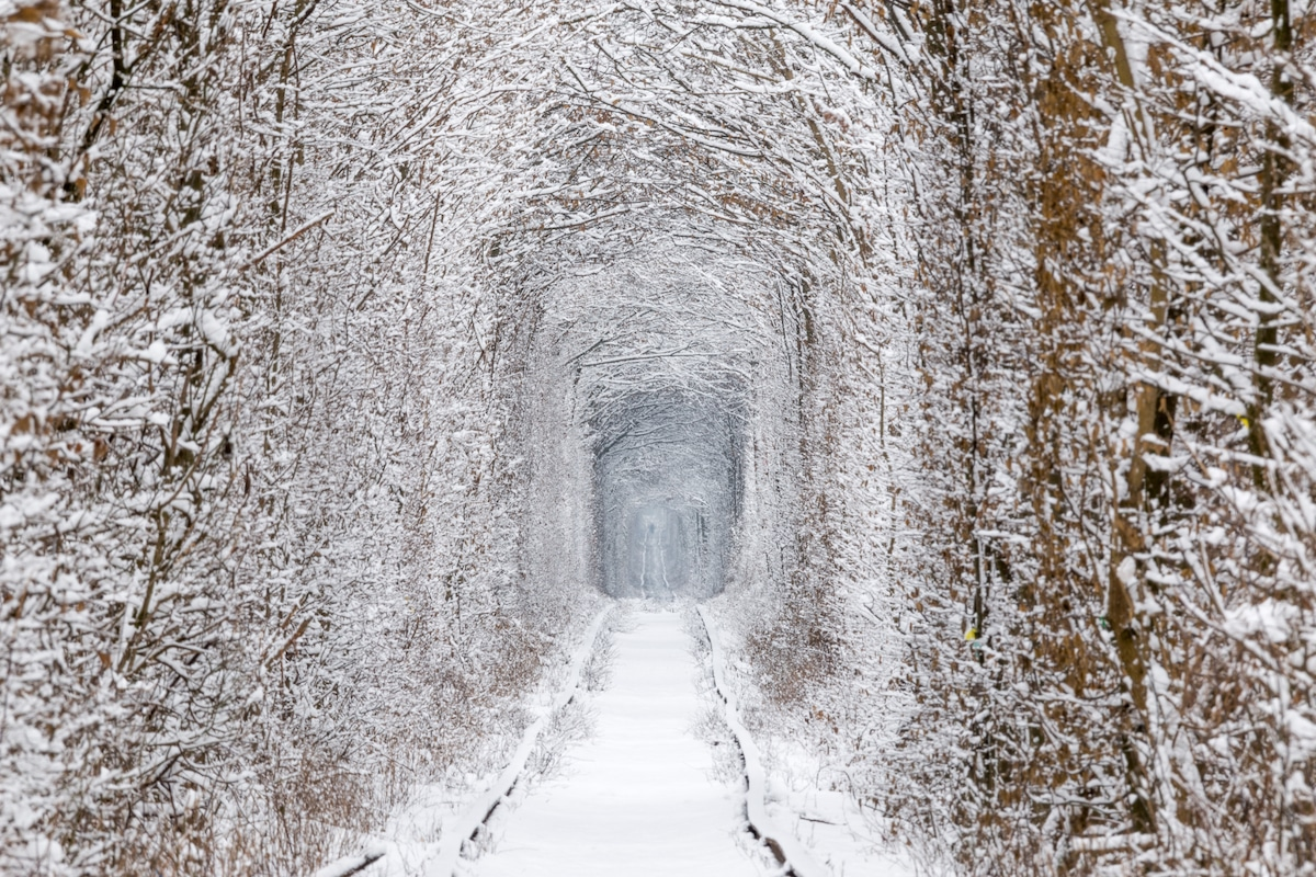 Tunnel de l'amour, Ukraine