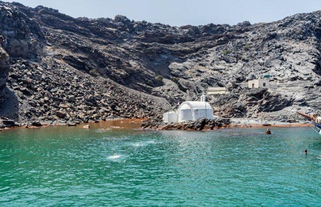 Visiter le cratère du Néa Kameni à Santorin : billets, tarifs, horaires