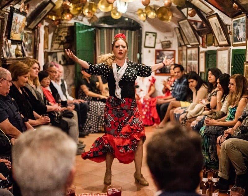Spectacle de flamenco, Zambra, Grenade