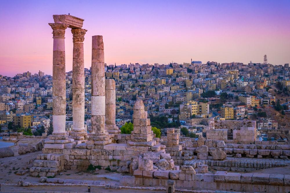 Amman, Cité, Jordanie