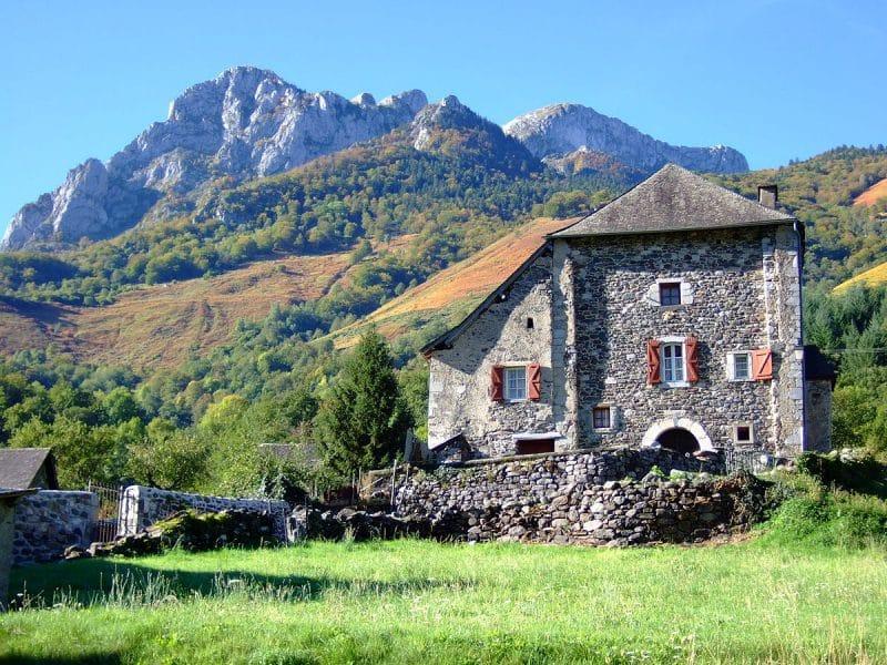 Maison forte à Borce, Parc national des Pyrénées