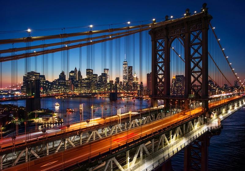Brooklyn Bridge, New-York