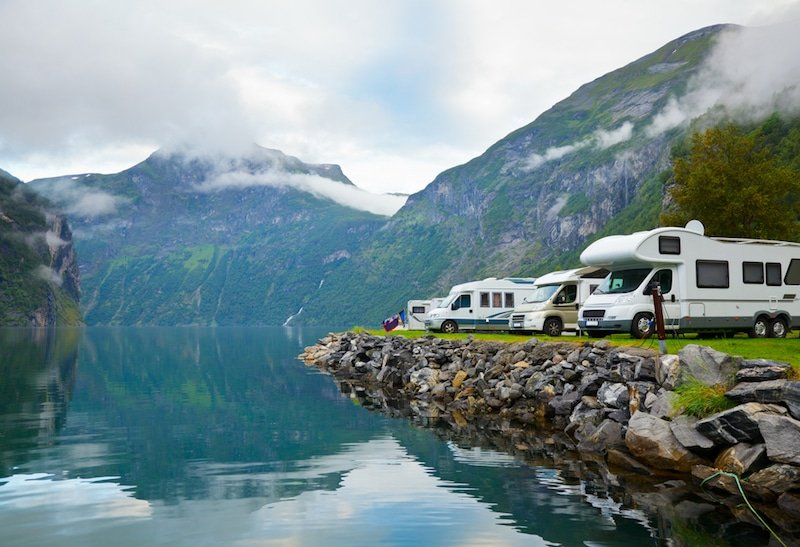 Camping-Car, Norvège
